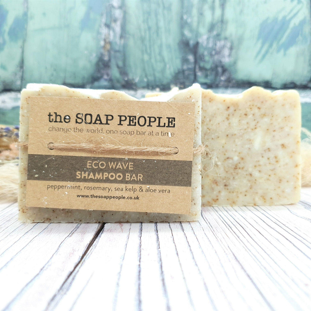 Eco Wave Shampoo Bar for Normal/Dry Hair – The Soap People