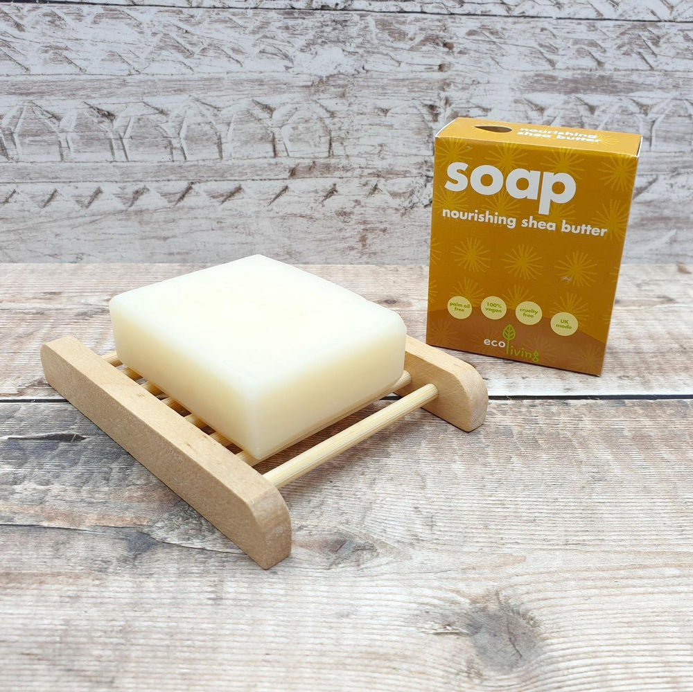 Shea Butter Vegan Plastic Free Soap - ecoLiving