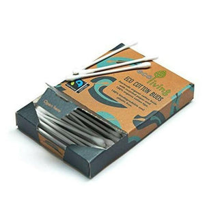 Organic Fairtrade Cotton Buds x 100 - EcoLiving