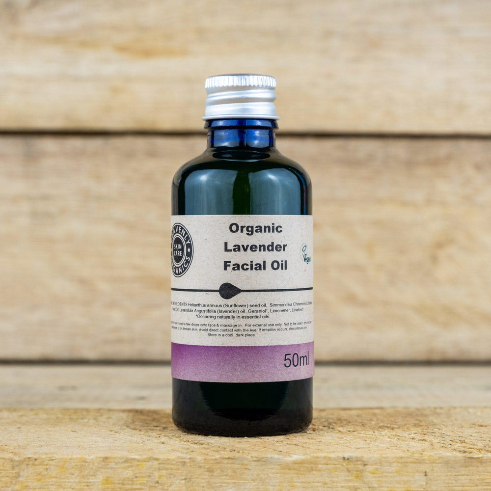 Organic Lavender Facial Oil – Heavenly Organics