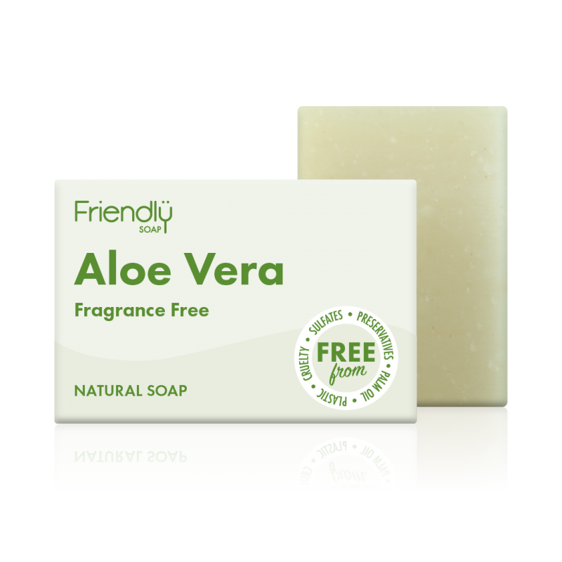 Load image into Gallery viewer, Aloe Vera Soap Bar - Friendly Soap