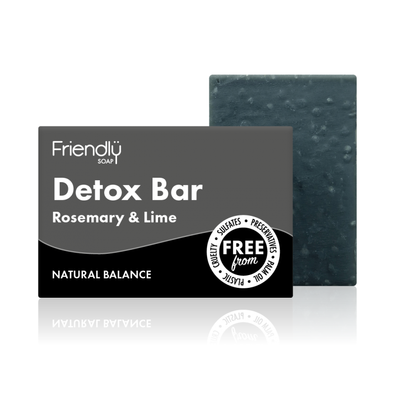 Detox Charcoal Soap Bar - Friendly Soap