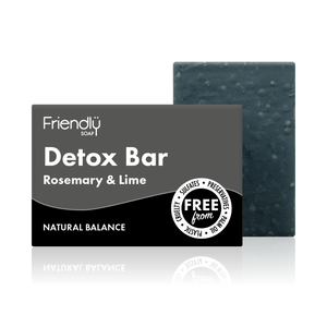 Load image into Gallery viewer, Detox Charcoal Soap Bar - Friendly Soap