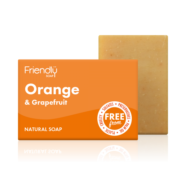 Orange & Grapefruit Soap Bar - Friendly Soap