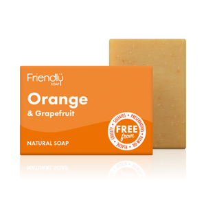 Load image into Gallery viewer, Orange & Grapefruit Soap Bar - Friendly Soap