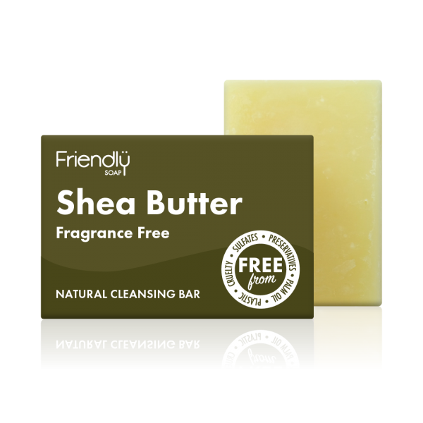 Shea Butter Cleansing Bar - Friendly Soap
