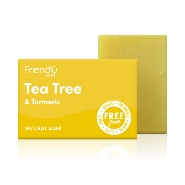 Tea Tree & Turmeric Soap Bar - Friendly Soap