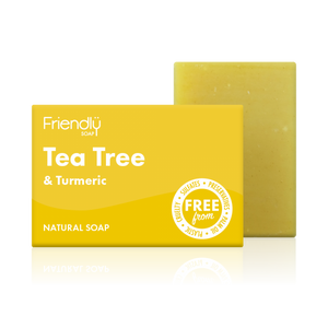 Load image into Gallery viewer, Tea Tree & Turmeric Soap Bar - Friendly Soap