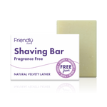 Shaving Soap Bar Fragrance Free - Friendly Soap