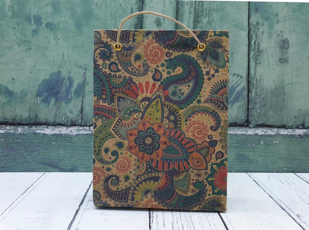 Gift Bags Handmade Recycled Cotton Paper - Vera-Bee Limited