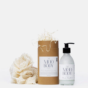 Miracle Body Wash & Natural Ramie Shower Puff - Moo Body
