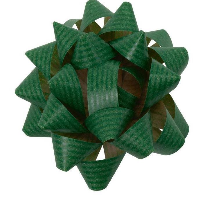 Paper Gift Bow in Green - Go Green