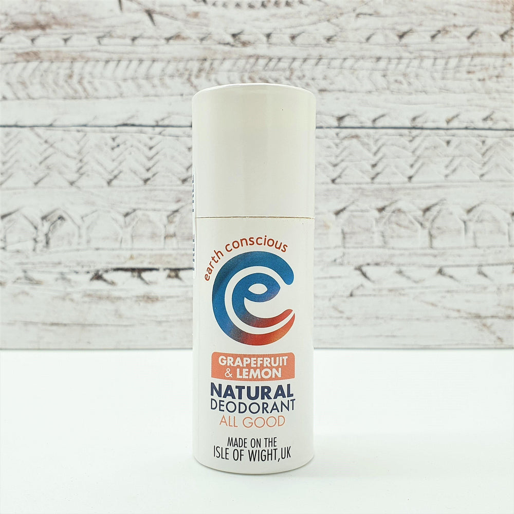 Natural Deodorant Grapefruit & Lemon - earth conscious