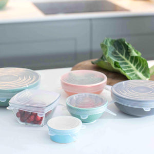 Silicone Stretch Lids Reusable & Eco-friendly - Green Island