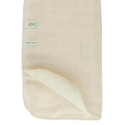 Organic Cotton Muslin Face Cloth - Greenfibres