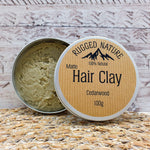 100% Natural Hair Clay 100g - Rugged Nature