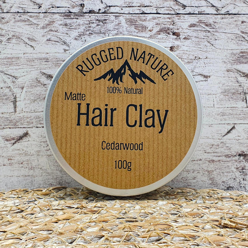100% Natural Hair Clay 100g - Rugged Nature - Vera-Bee Limited