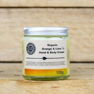 Organic Orange & Lime Hand & Body Cream – Heavenly Organics