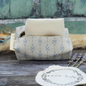Load image into Gallery viewer, Linen Tissue & Handkerchief Pouch by Vera-Bee