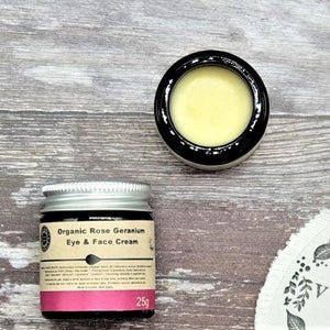 Load image into Gallery viewer, Organic Rose Geranium Eye & Face Cream – Heavenly Organics