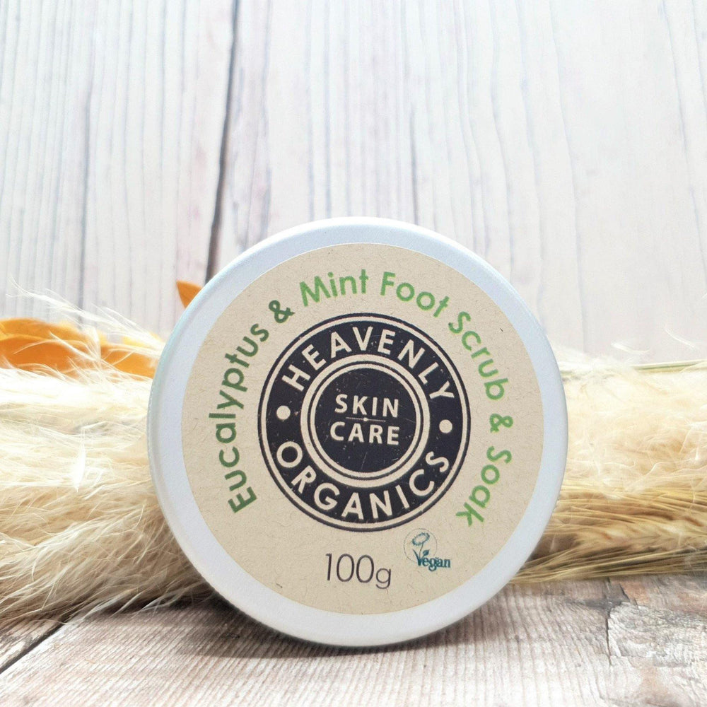 Eucalyptus & Mint Foot Scrub & Soak - Heavenly Organics