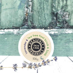 Lavender & Tea Tree Foot Scrub & Soak - Heavenly Organics