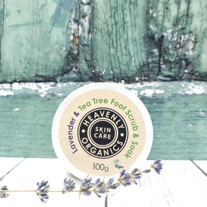 Load image into Gallery viewer, Lavender & Tea Tree Foot Scrub & Soak - Heavenly Organics - Vera-Bee Limited