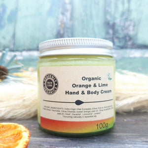 Organic Orange & Lime Body Care Gift Set – Heavenly Organics