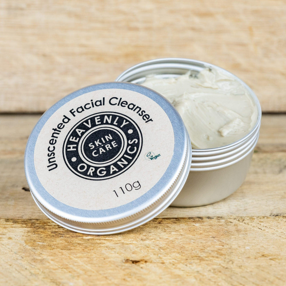 Organic Unscented Clay Facial Cleanser - Heavenly Organics