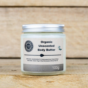 Organic Unscented Body Butter – Heavenly Organics
