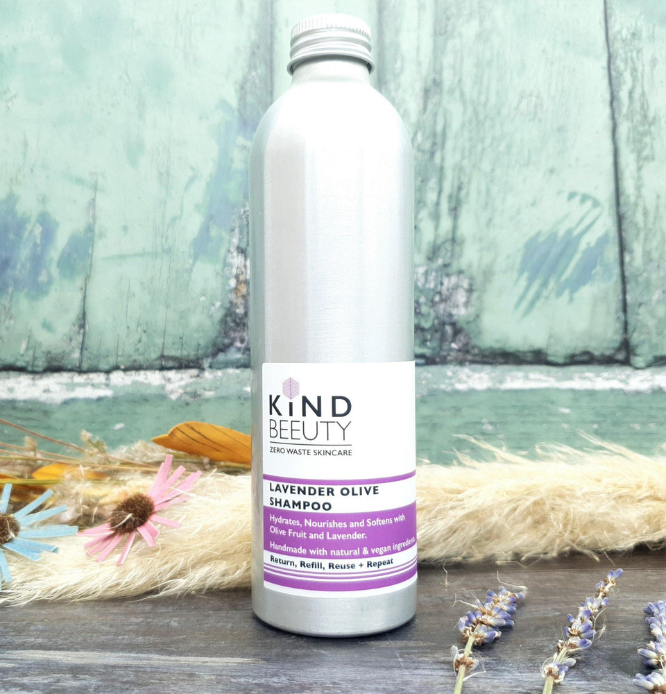 Lavender Olive Shampoo – Natural, Zero Waste – Kind Beeuty