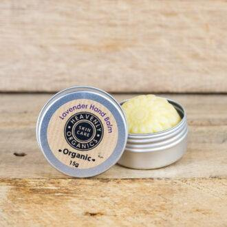 Load image into Gallery viewer, Organic Lavender Solid Hand Balm Zero Waste – Heavenly Organics