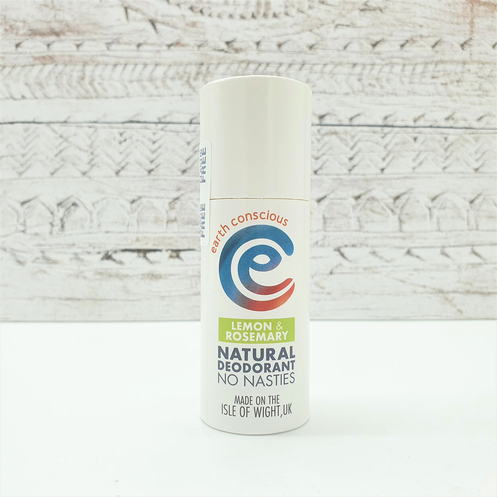 Natural Deodorant Lemon & Rosemary - earth conscious