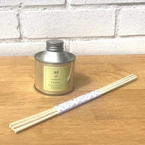 Pure Essential Oil Reed Diffuser - Sherbet Linen - Vera-Bee Limited