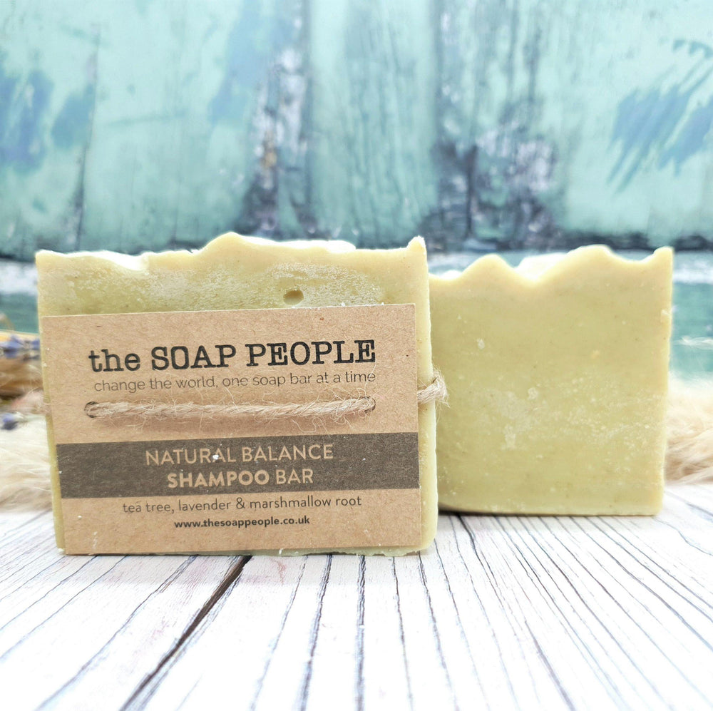 Natural Balance Shampoo Bar for Oily Hair – The Soap People