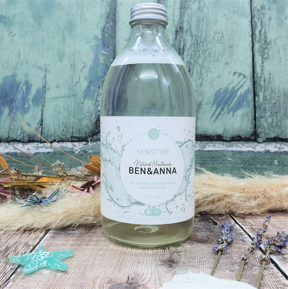 Natural mouthwash plastic free