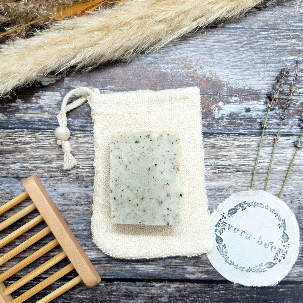 Natural Ramie Soap Bag - Vera-Bee Limited