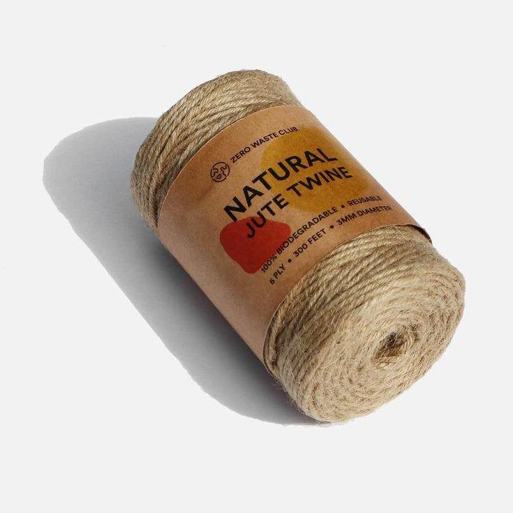 Natural Jute Twine  - Zero Waste Club