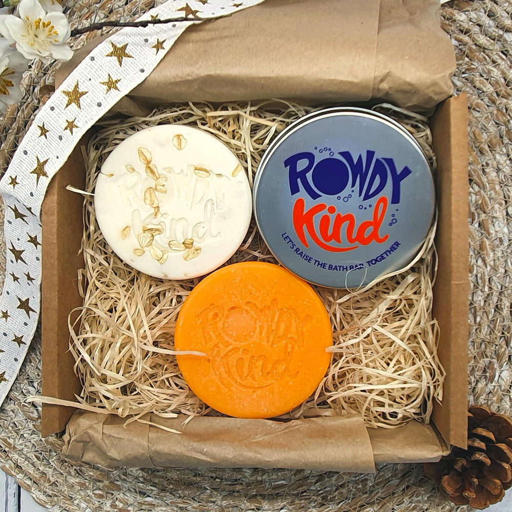 Children's Oat & Mango Bath Set - Rowdy Kind