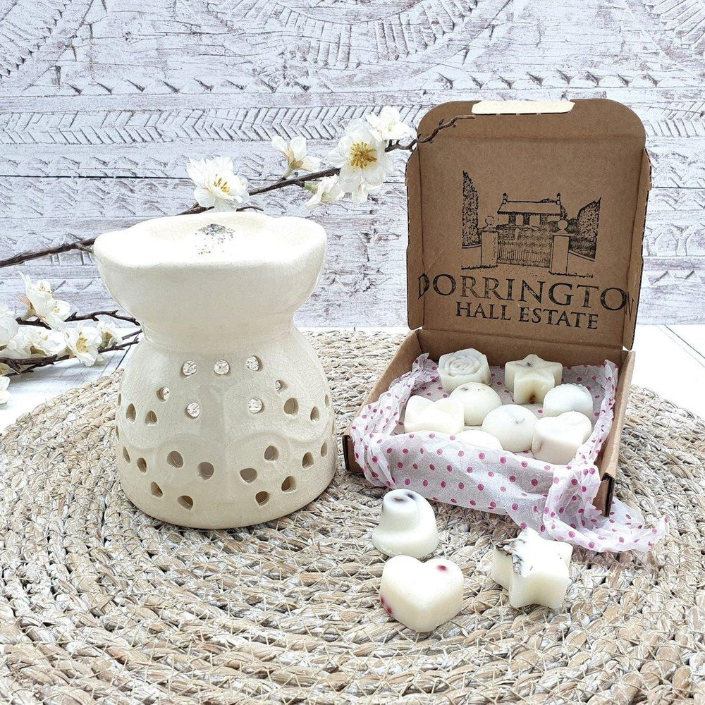 Essential Oil & Wax Melt Burner Ivory - Tree of Life