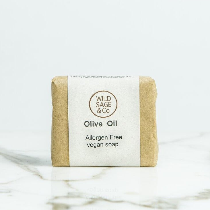 Sensitive Olive Oil Soap Bar - Wild Sage & Co