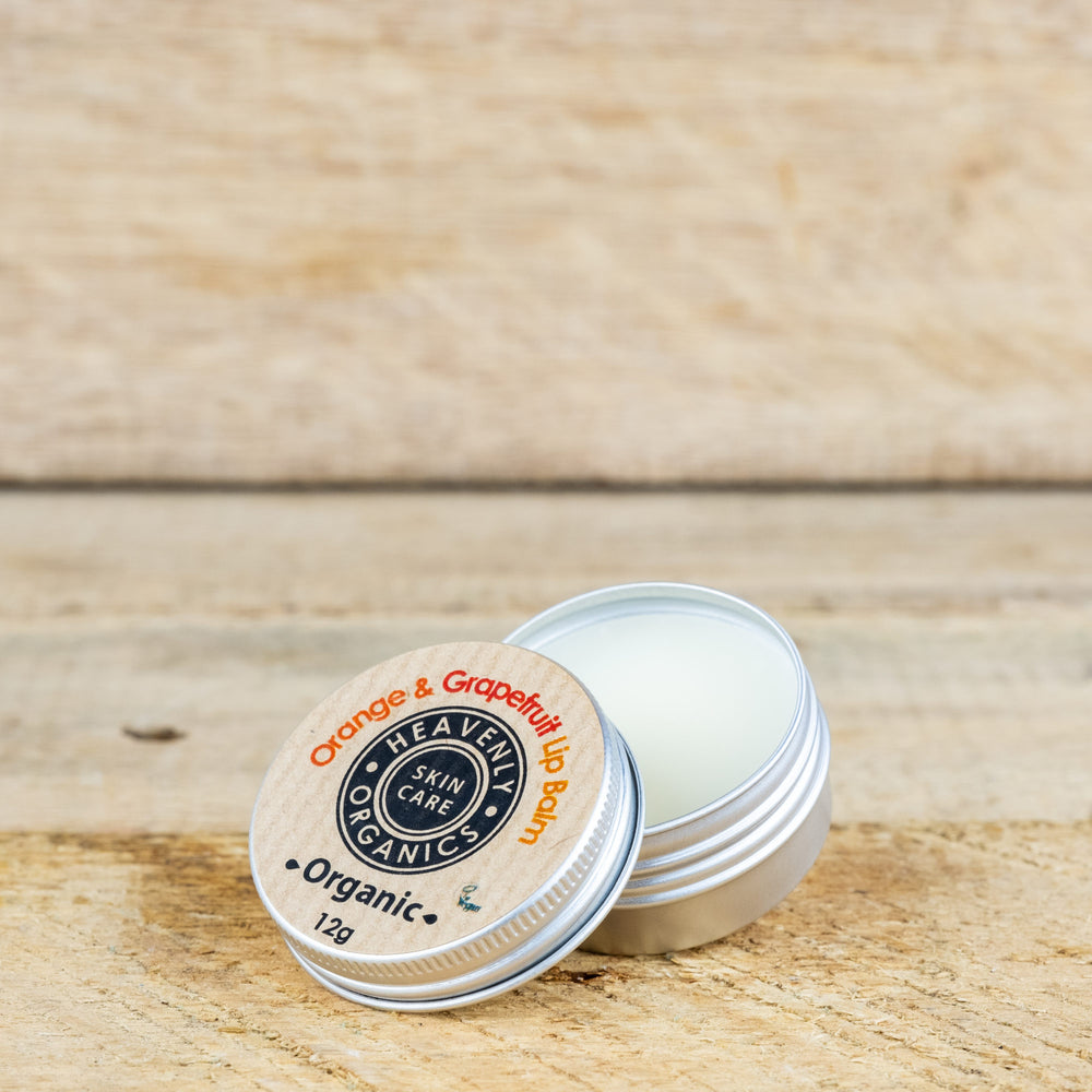 Organic Orange & Grapefruit Lip Balm – Heavenly Organics