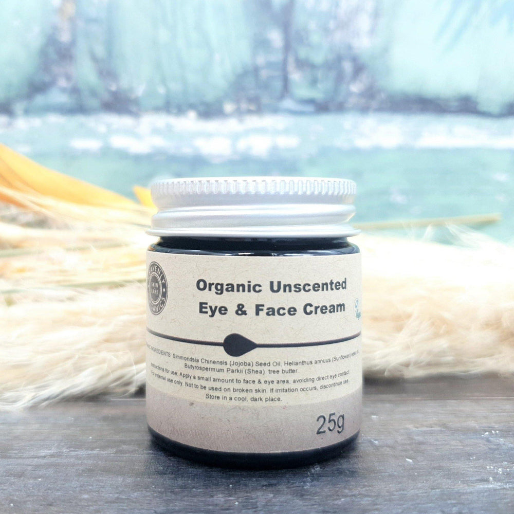 Organic Unscented Eye & Face Cream – Heavenly Organics