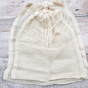 Organic Cotton Produce/Grocery Bag Netted