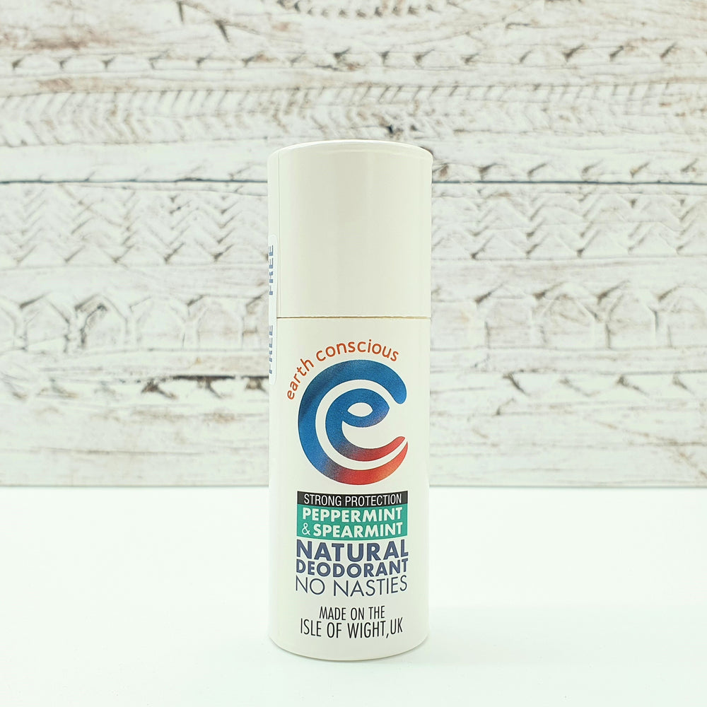 Natural Deodorant Peppermint & Spearmint Strong Protection - earth conscious