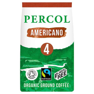 Load image into Gallery viewer, Percol Fairtrade Organic Americano Ground Coffee - Plastic Free - Vera-Bee Limited