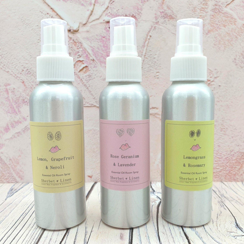Pure Essential Oil Room Spray - Sherbet Linen