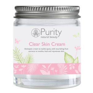 Clear Skin Cream Mini Jar - Purity Natural Beauty