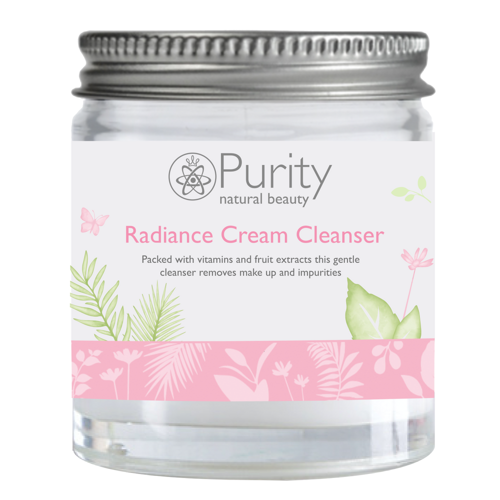 Radiance Cream Cleanser Mini Jar - Purity Natural Beauty