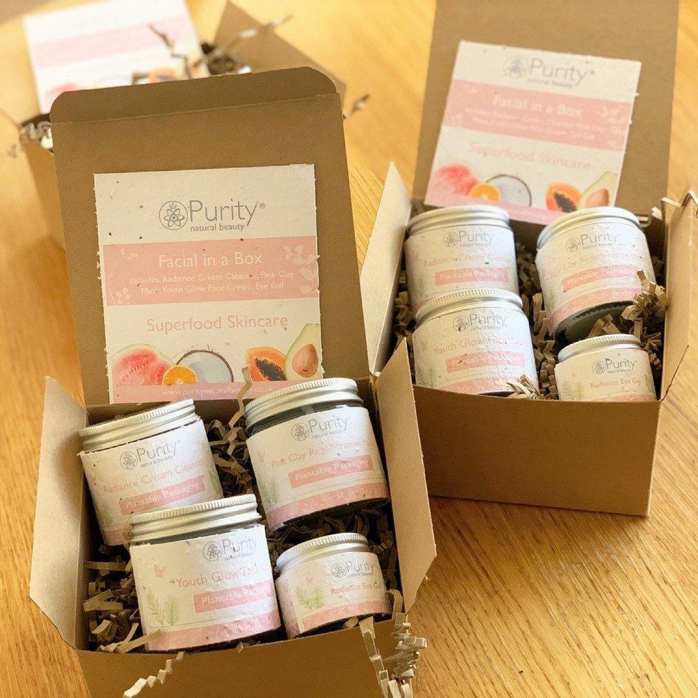 Facial In a Box Gift Set by Purity Natural Beauty - Vera-Bee Limited